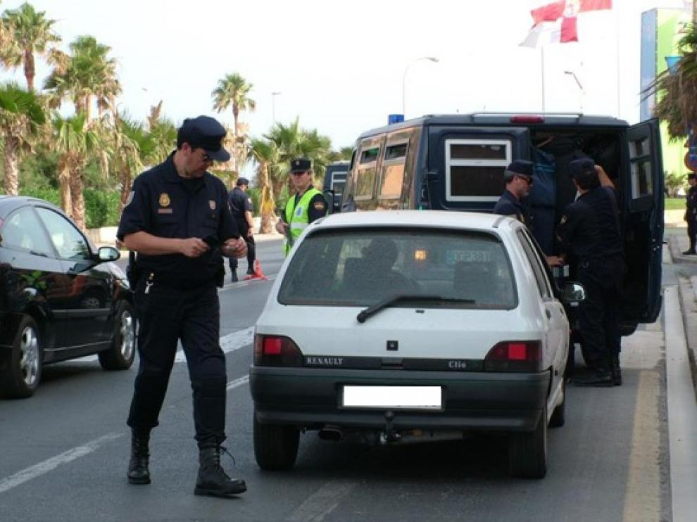 La Policía Nacional efectúa la mayoría de las detenciones.