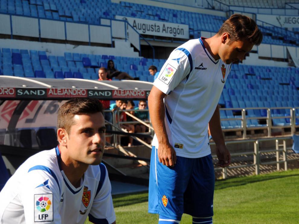 Eldin y Dorca, los dos últimos fichajes del Real Zaragoza