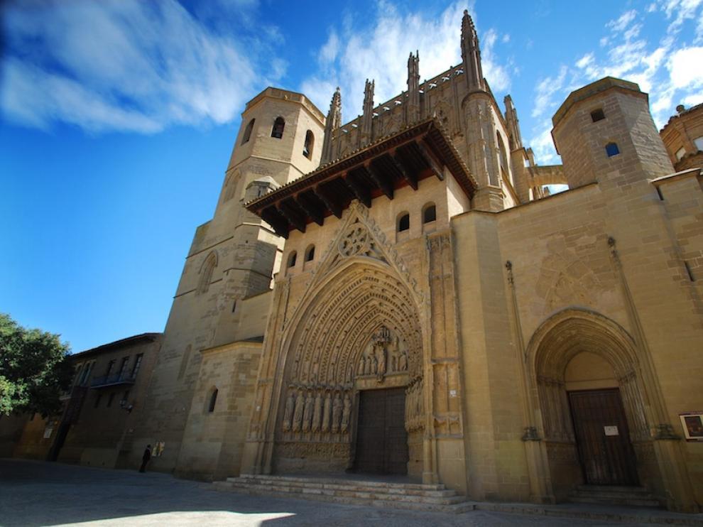 Exterior de la Catedral de Huesca.