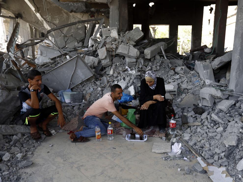 Palestina comienza a reconstruir la Franja