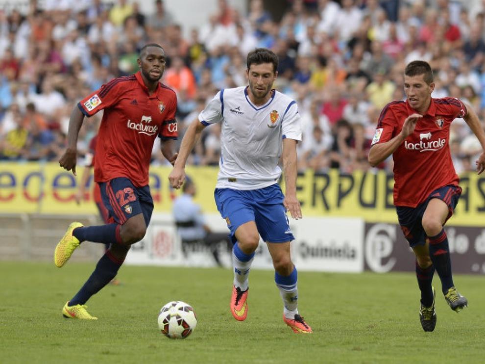 El partido de la primera vuelta entre el Real Zaragoza y el Osasuna
