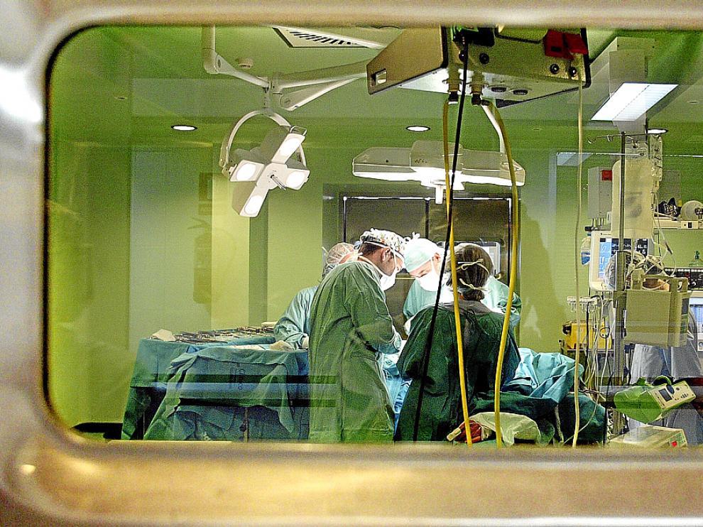 Los quirófanos aragoneses han realizado una cifra récord de trasplantes en 2013