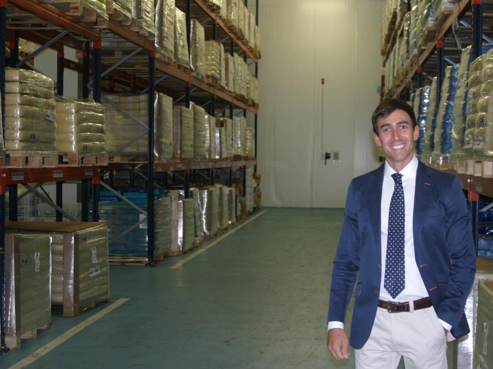 Andrés Maldonado, de Millán Vicente, empresa que exporta quesos a Australia, Japón o Kuwait