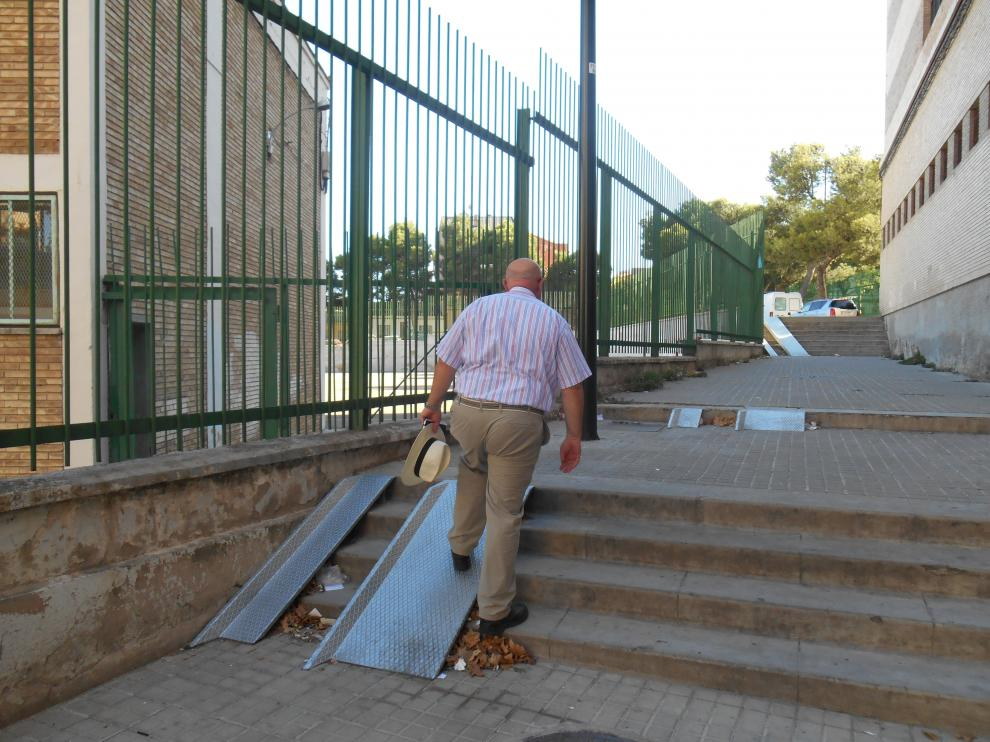Las rampas de la calle Oviedo