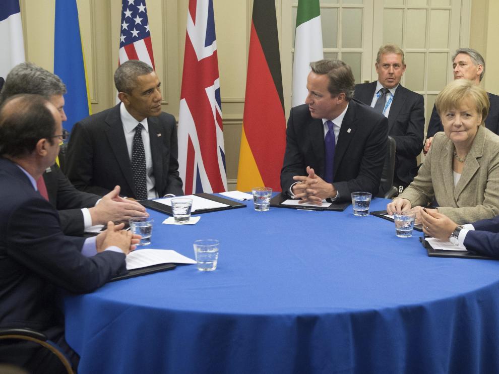 Reunión entre los máximos dirigentes