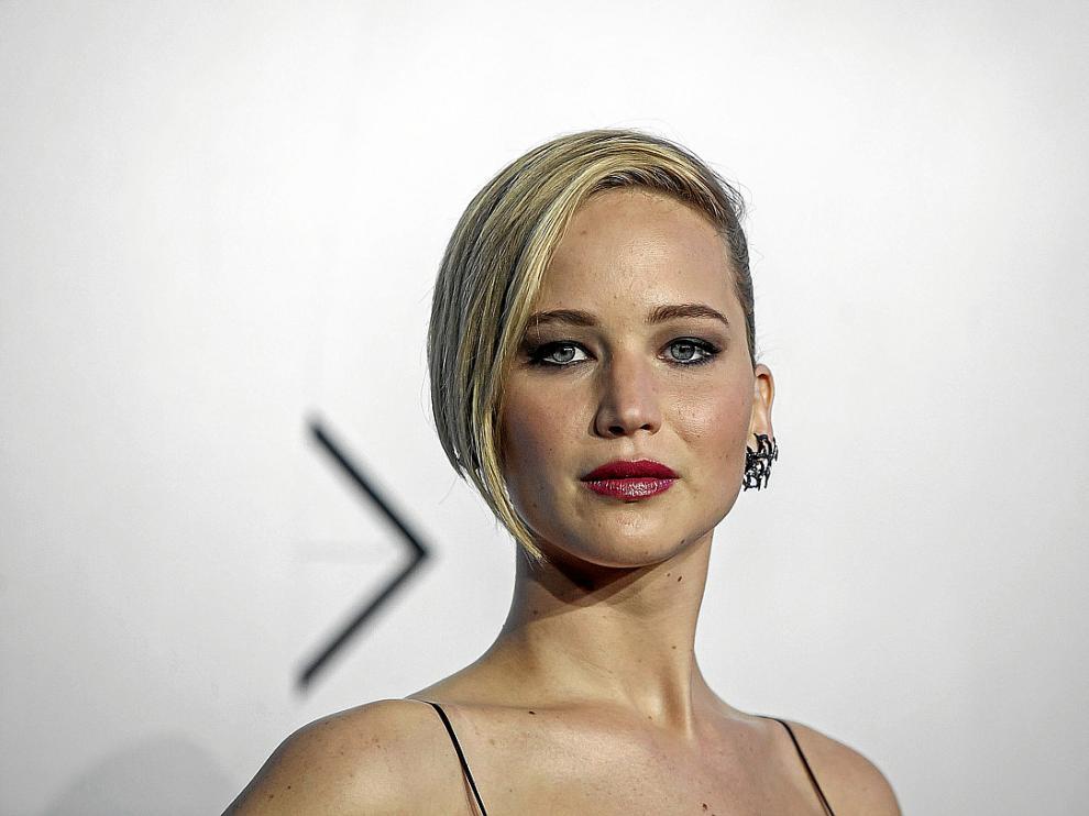 La actriz Jennifer Lawrence, el pasado mes de mayo, en Nueva York.
