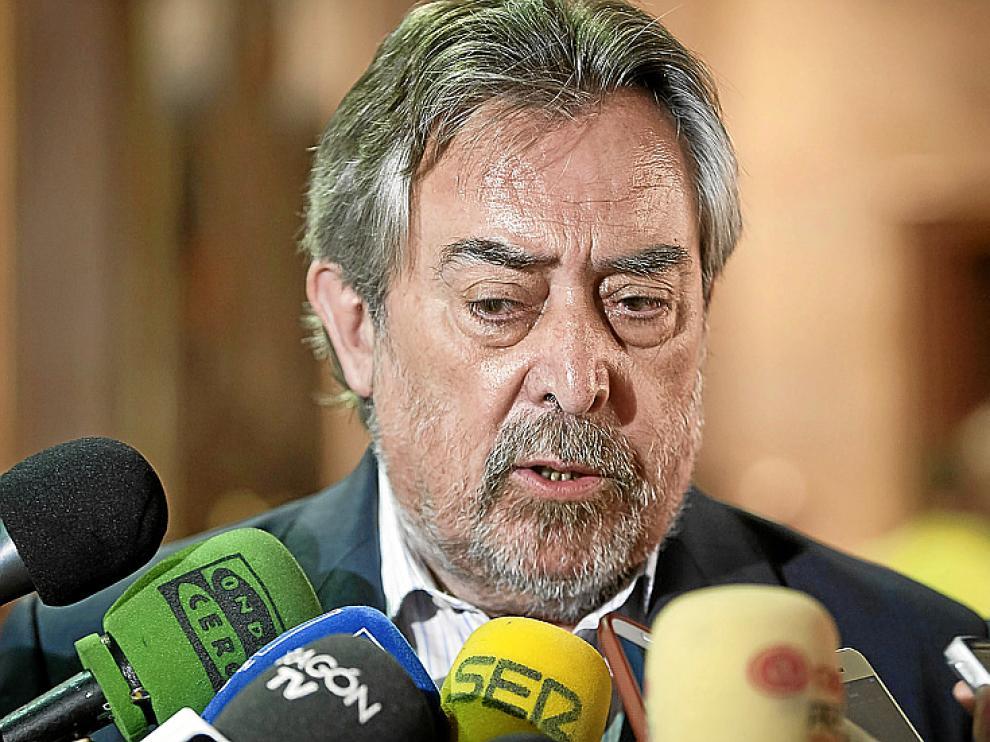 El alcalde de Zaragoza, Juan Alberto Belloch.