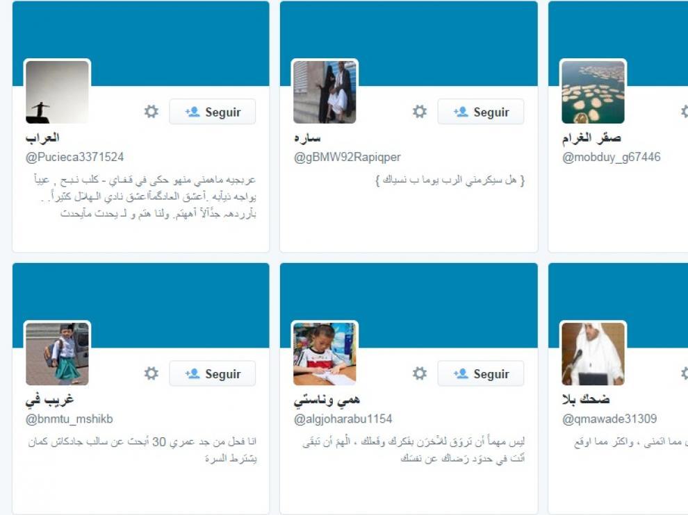 Algunos de los 'seguidores' del Presidente del Gobierno