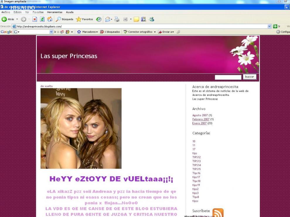 """Las páginas Pro-Ana y Pro-Mía suelen incluir mensajes que invitan a convertirse en """"princesas"""" y alcanzar la """"perfección""""."""