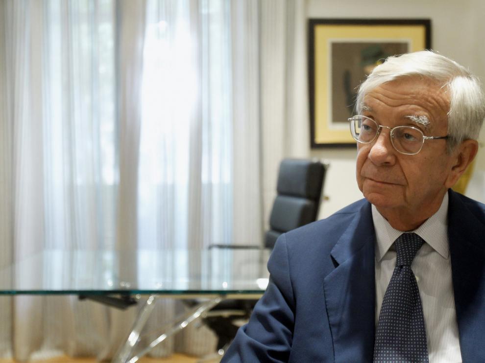 Rafael Ansón, presidente de la Real Academia de Gastronomía