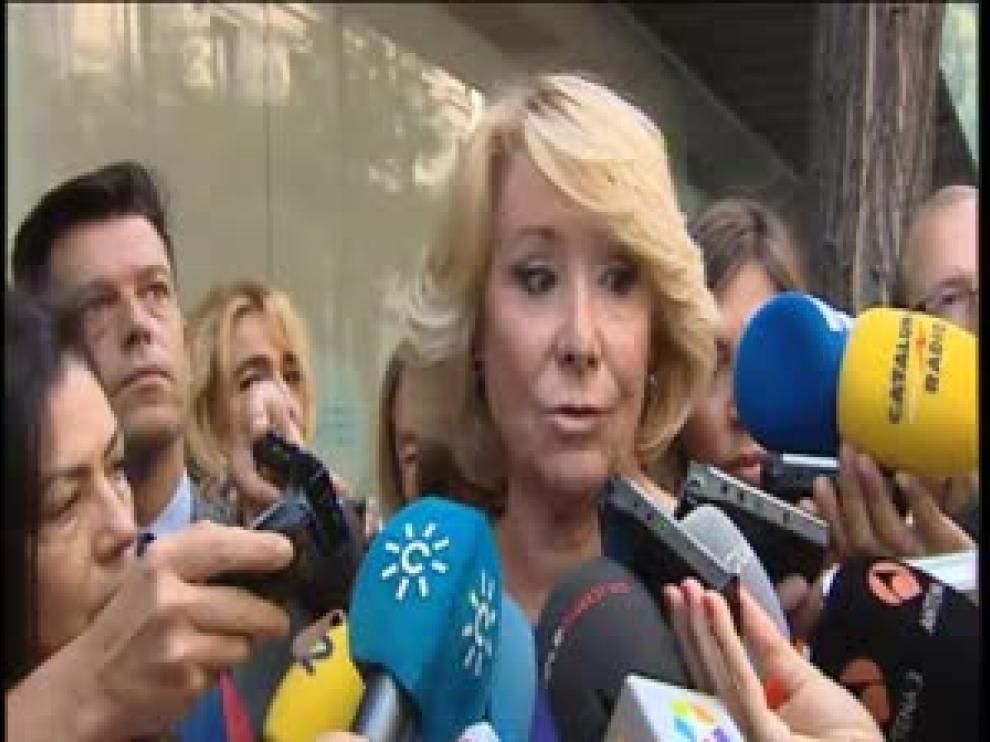 Esperanza Aguirre en imagen de archivo