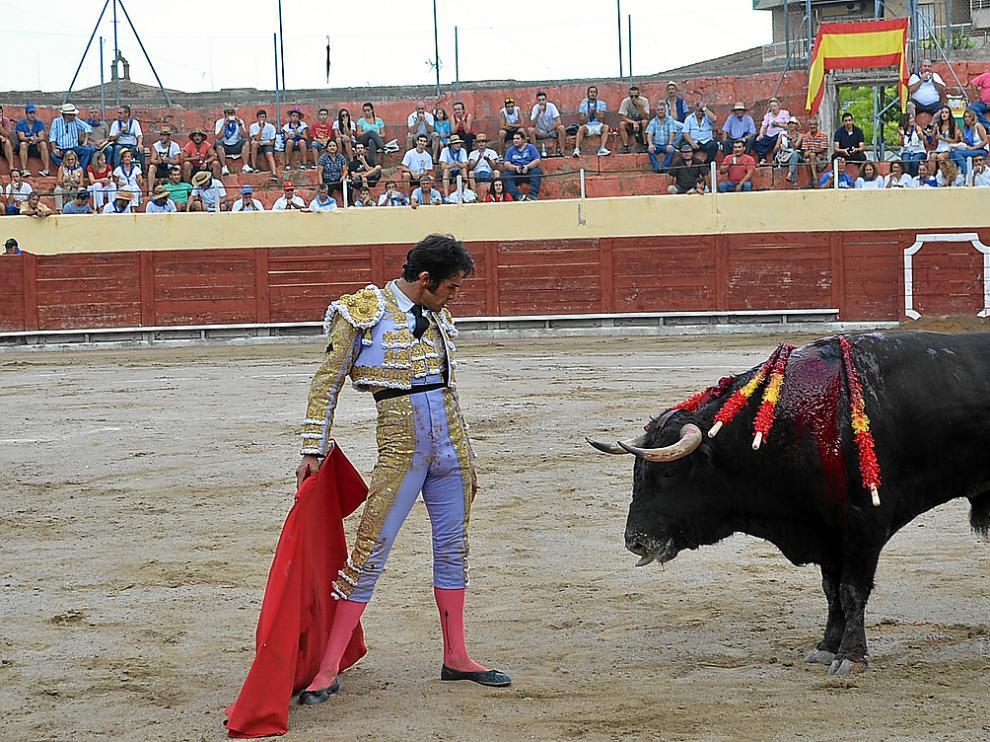 Imagen de archivo de una corrida de toros en Barbastro en años anteriores.