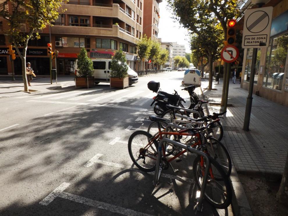 Calle Alcoraz de Huesca, imagen de archivo.