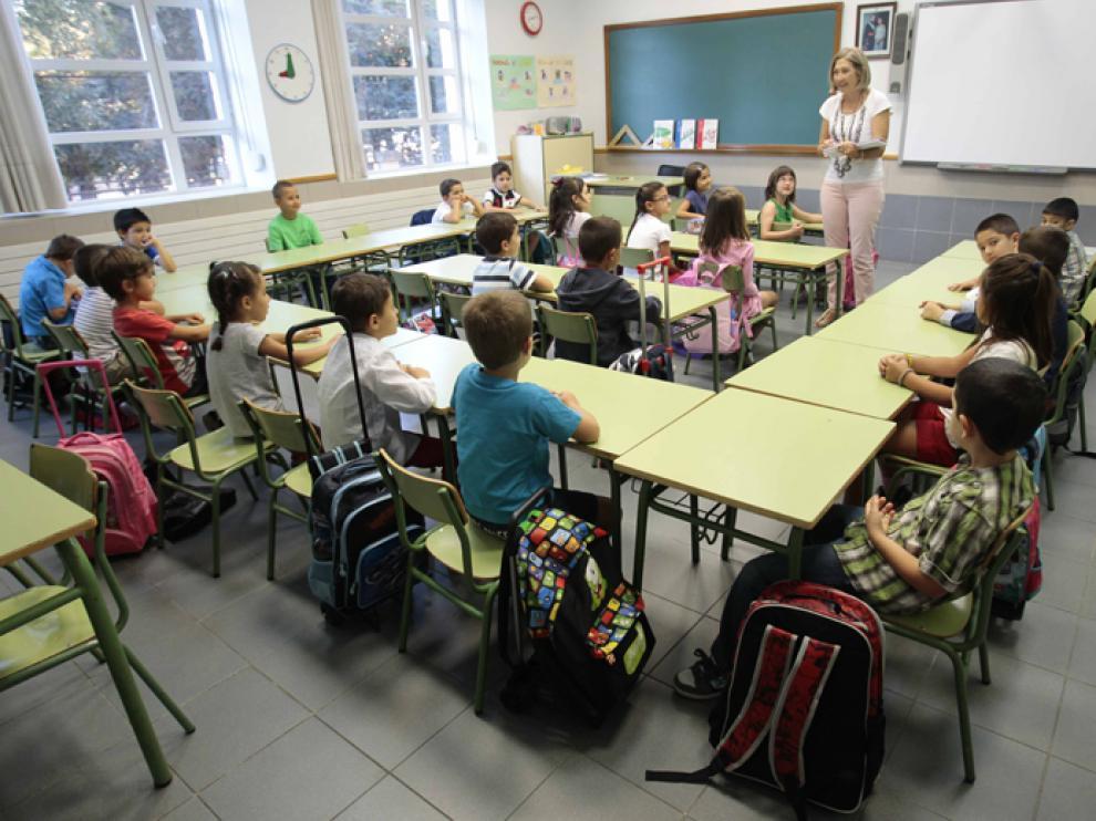 En Aragón las clases comenzarán el día 10 de septiembre