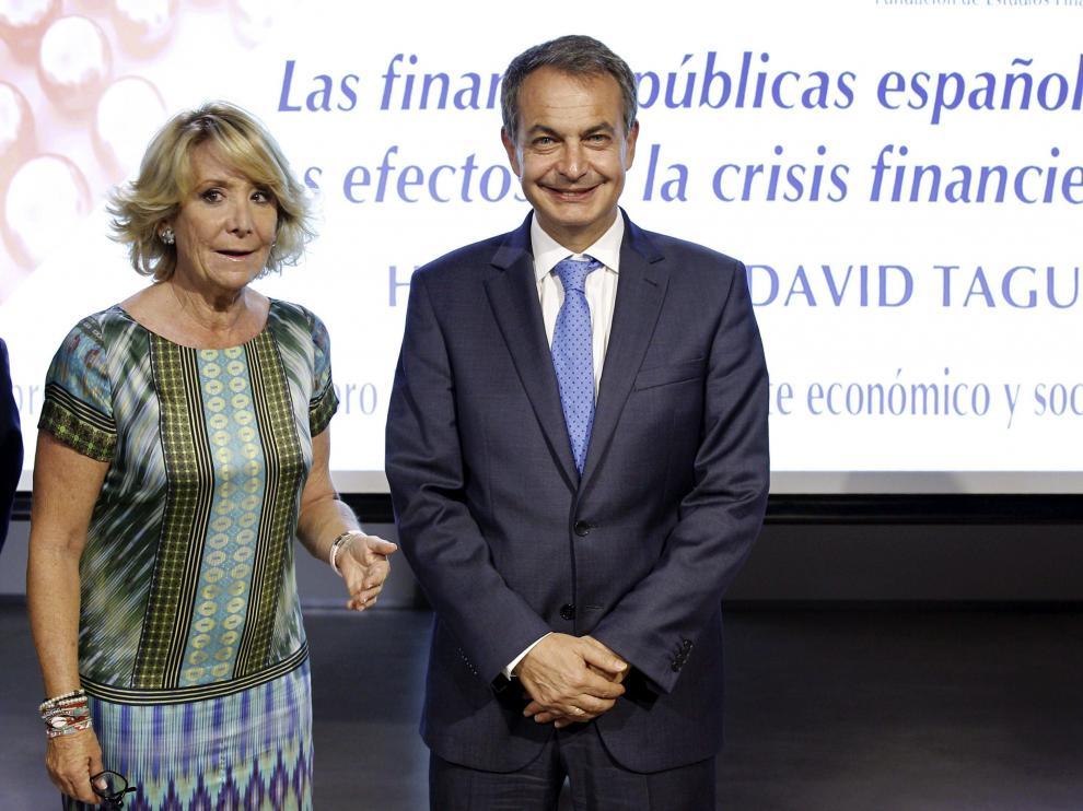 """Zapatero: """"La diada hace urgente la negociación Gobierno-Generalitat"""""""