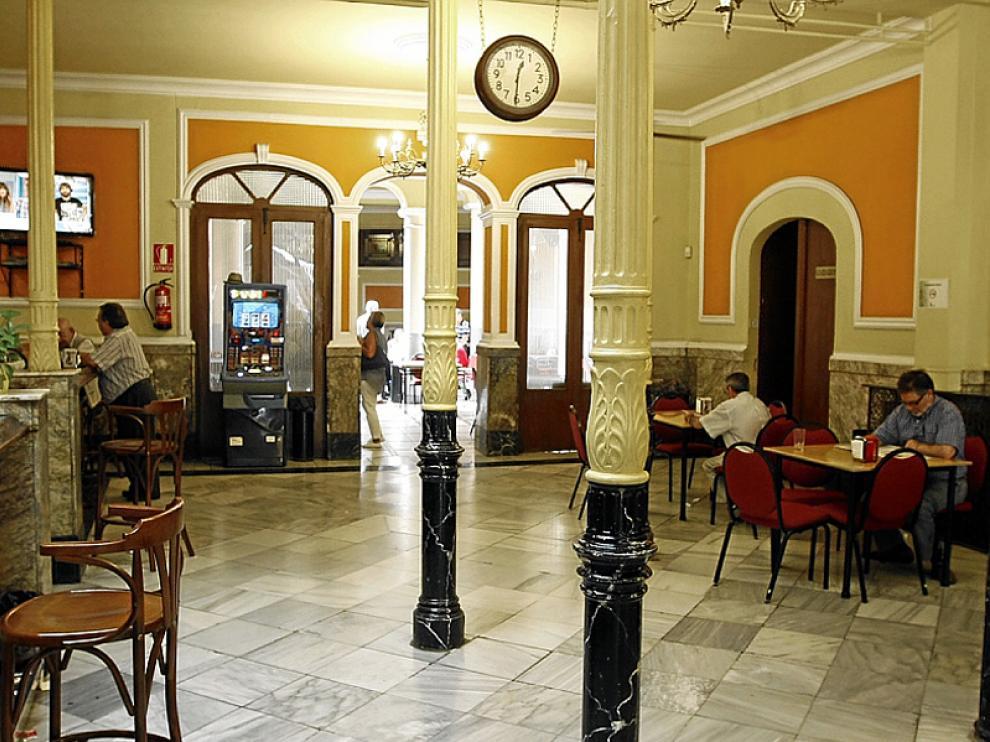 Fotografía del interior del Casino Círculo Amistad Numancia