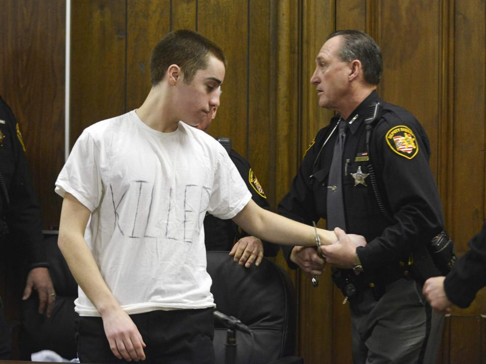TJ Lane en una imagen de un juicio