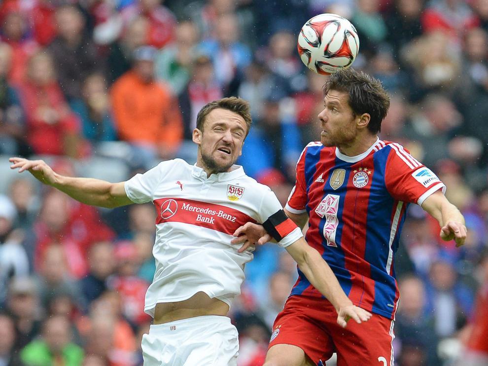 En la victoria del Bayern, Xabi Alonso volvió a tener una presencia importante.