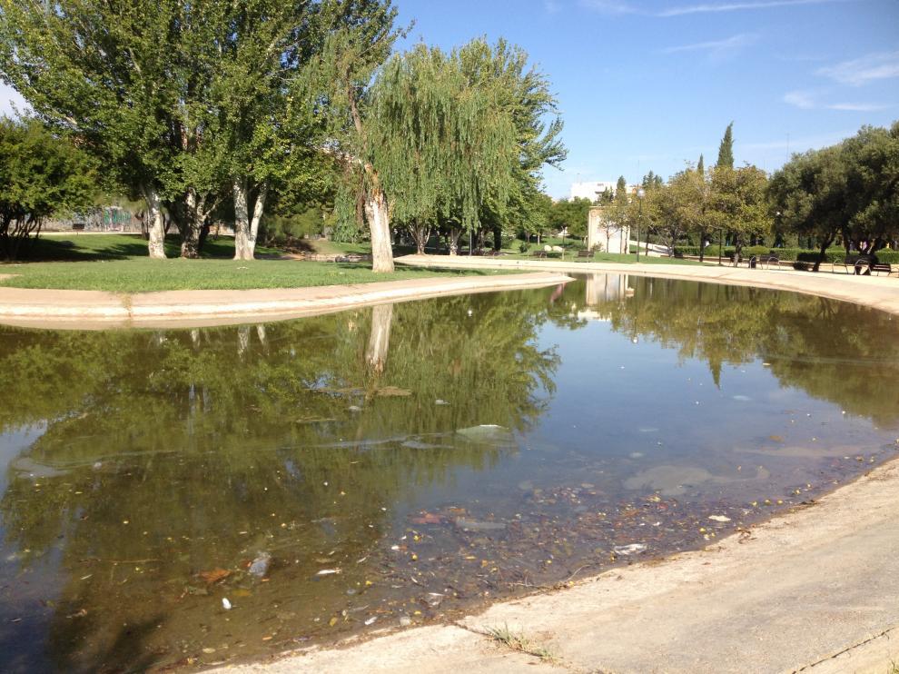Críticas por el poco mantenimiento del lago del parque de La Granja