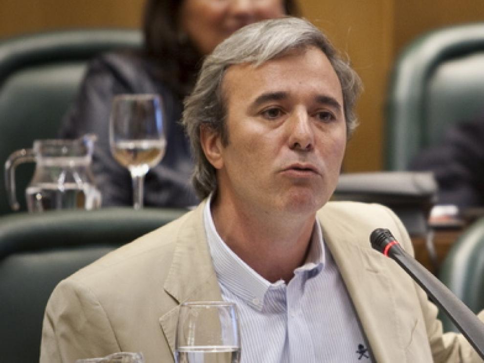 Jorge Azcón en una imagen de archivo.