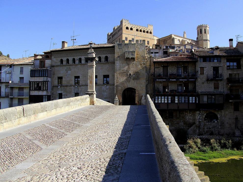 Imagen de Valderrobres, la capital administrativa de la Comarca del Matarraña.
