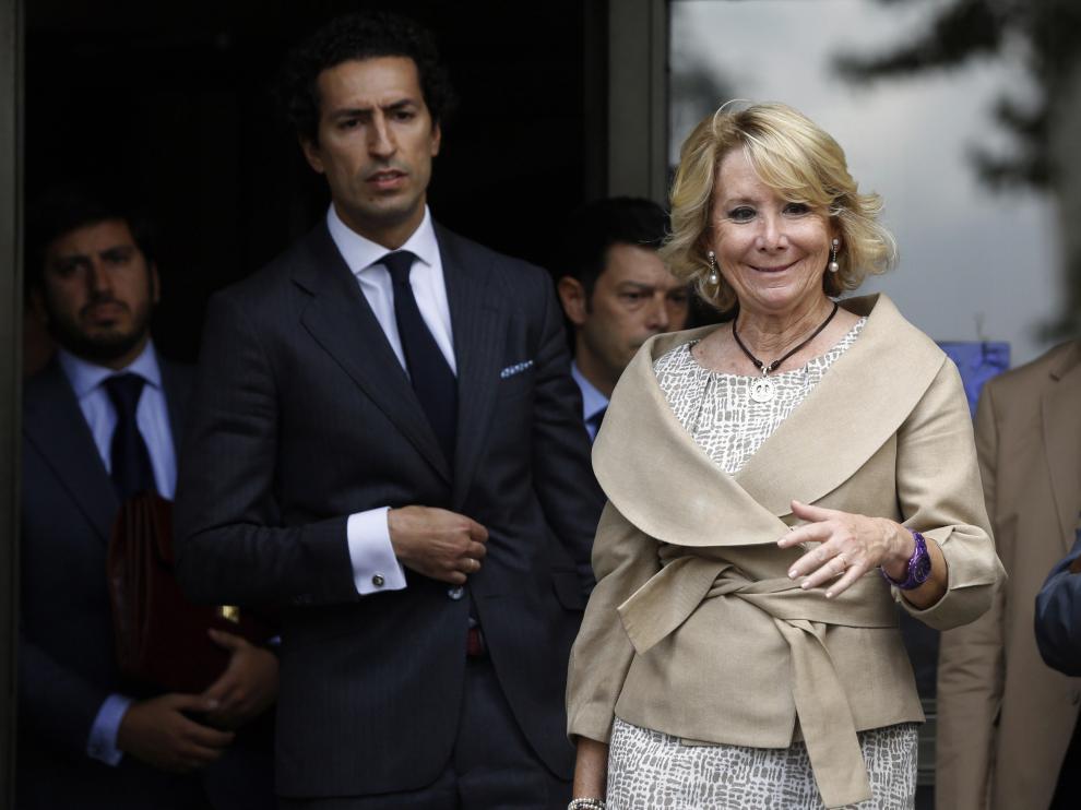 Aguirre a su salida de los juzgados