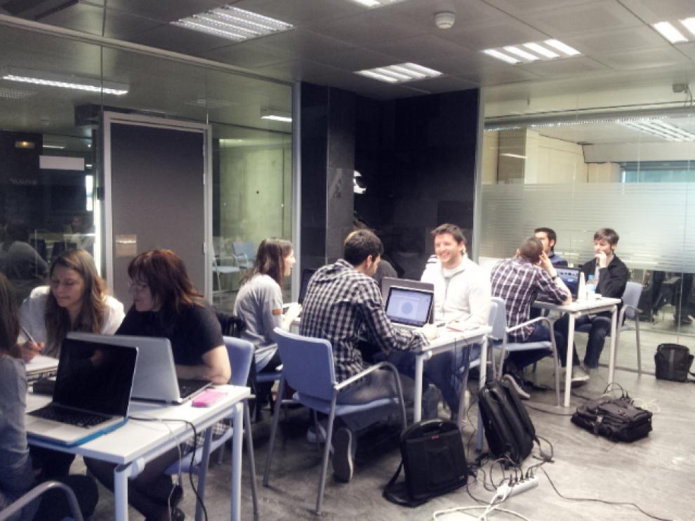 Alumnos del 'Máster de Marketing On Line y Redes Sociales' de Ayanet