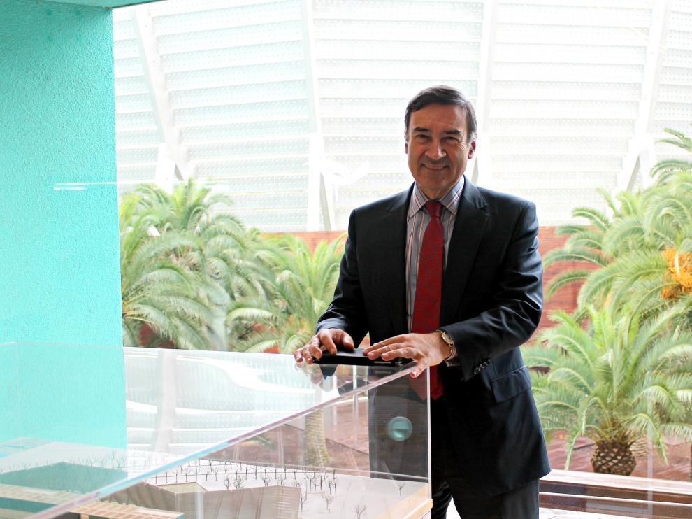 Pedro J. Ramírez, en su visita a Zaragoza.