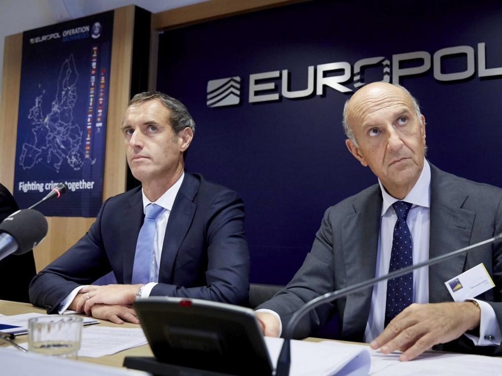 La Europol ha dado este miércoles datos de la operación