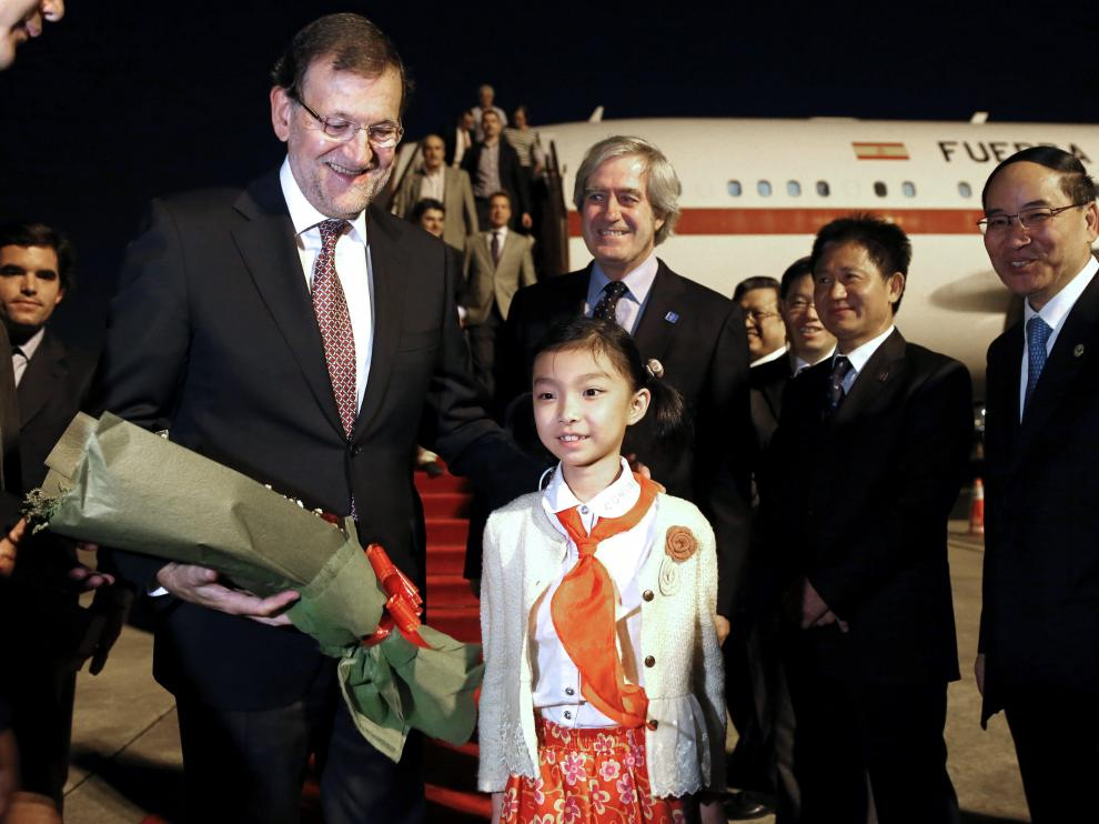Visita de Rajoy a China