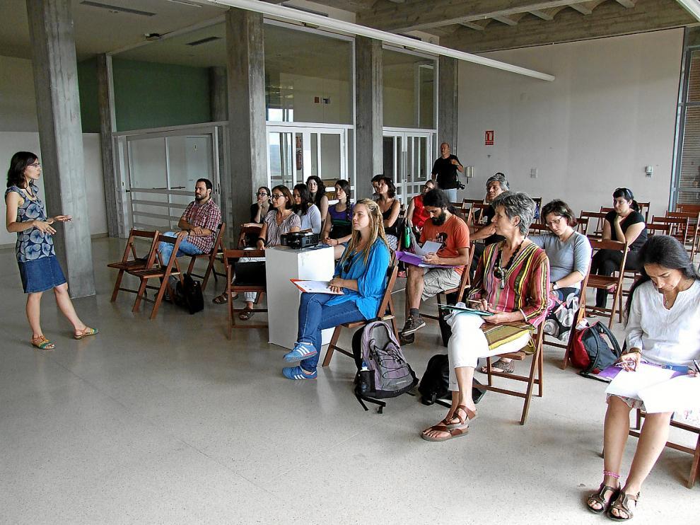 Un momento del taller de traducción celebrado el pasado mes de julio.