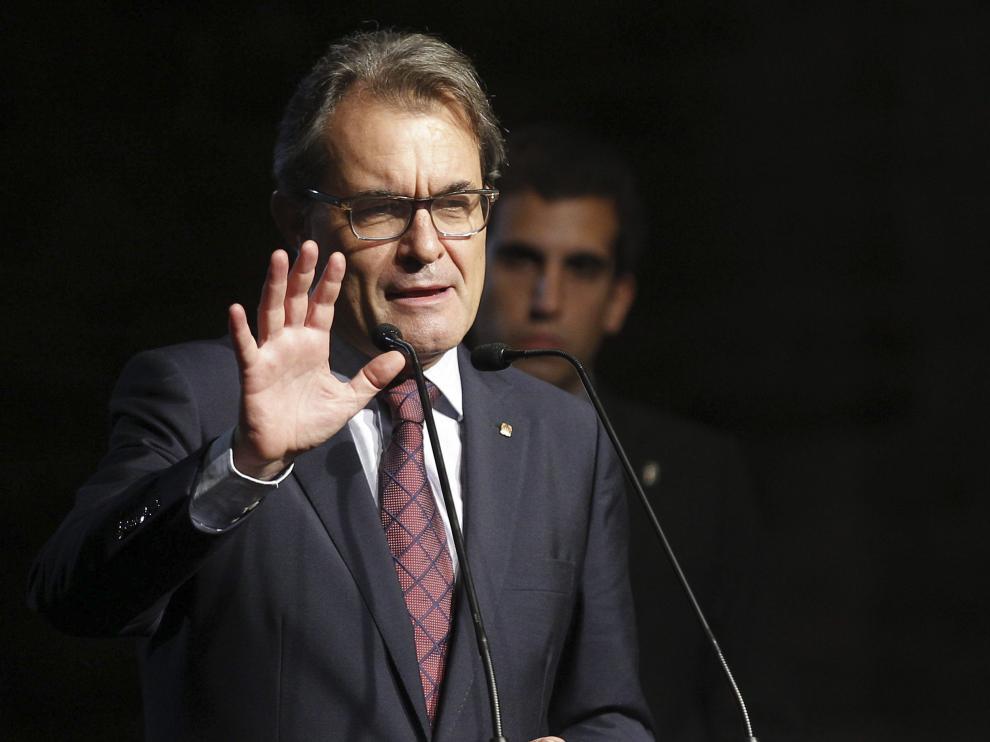 Artur Mas, presidente catalán (Archivo)