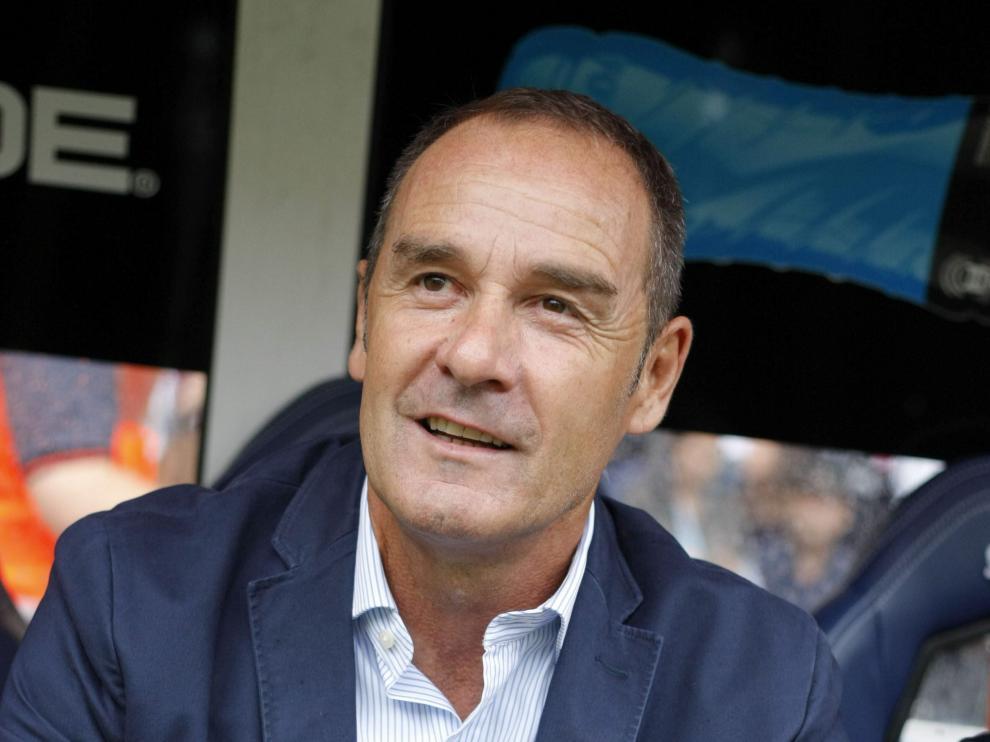 Víctor Fernández, entrenador del Deportivo de la Coruña