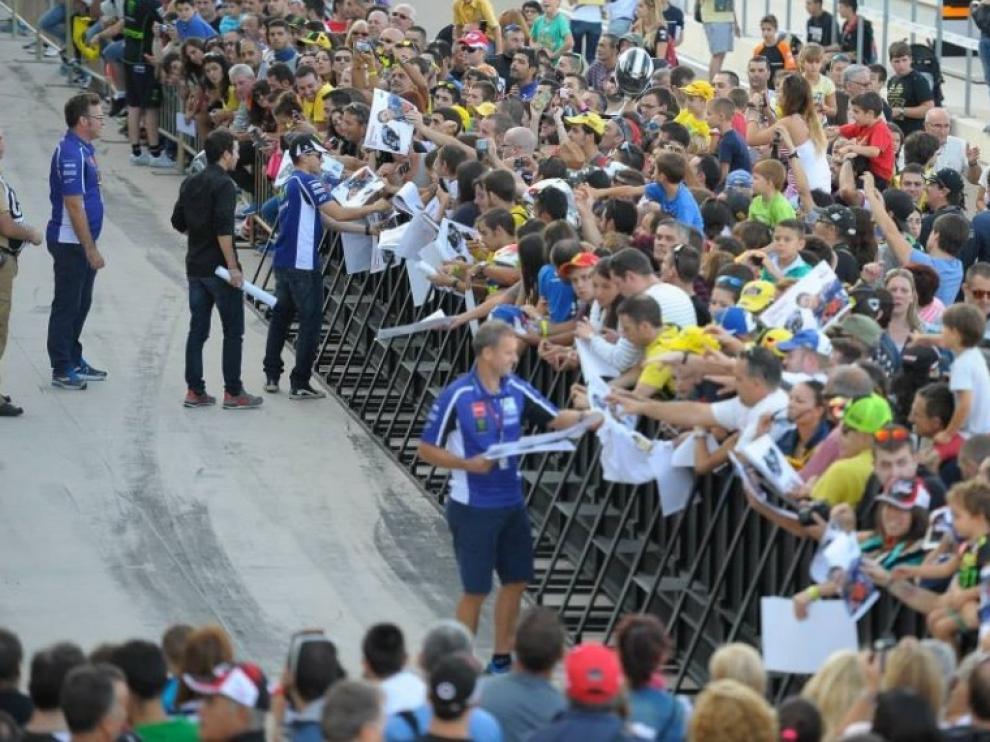 Numeroso público en Motorland Aragón