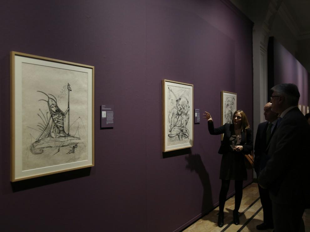 Exposición sobre Dalí en Zaragoza