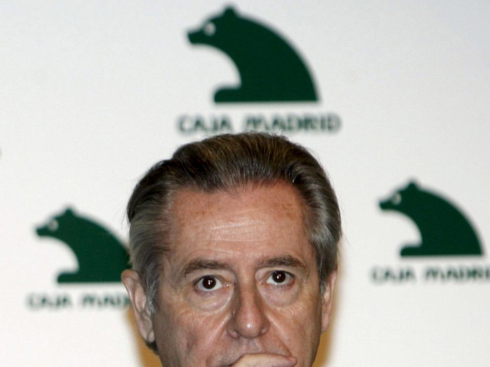 Imagen de archivo del expresidente de Caja Madrid, Miguel Blesa