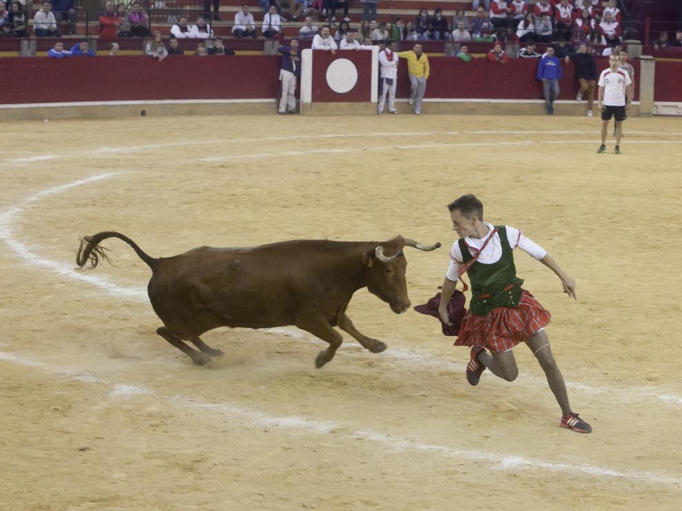 Foto de archivo de las vaquillas de las fiestas del Pilar.