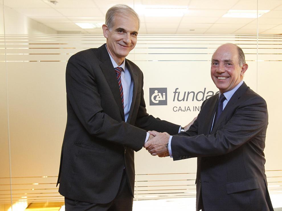 Imagen durante el acuerdo adoptado por el Patronato de la Fundación Caja Inmaculada