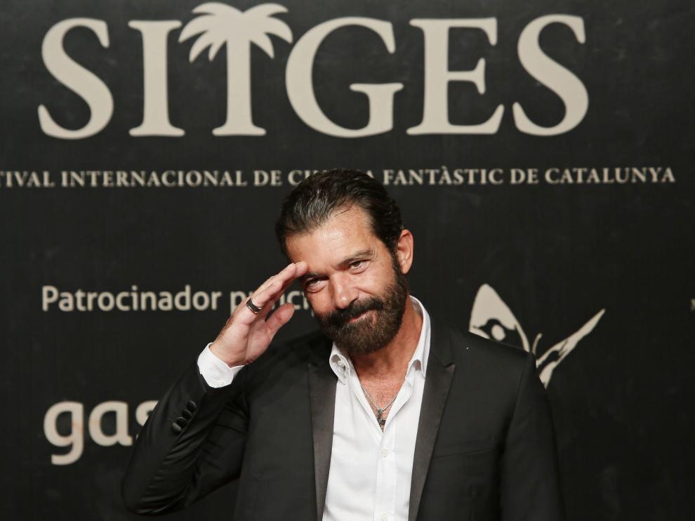 Antonio Banderas en el Festival de Sitges