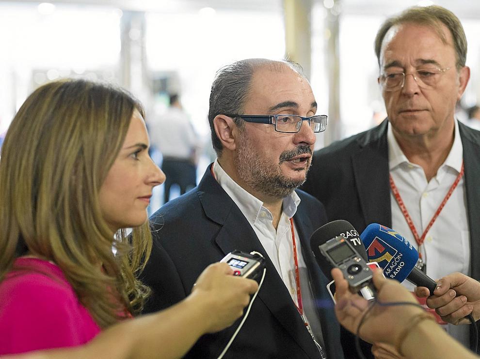 Lambán y Anadón, del PSOE.