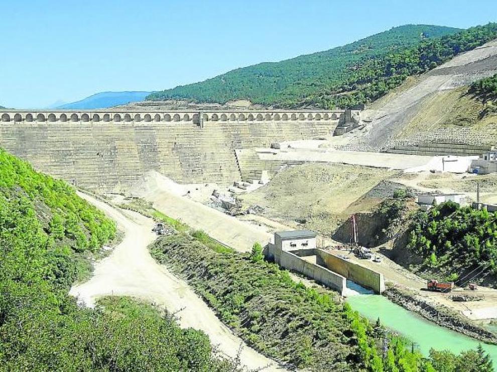 Embalses de la cuenca del Ebro, al 74,2 % de capacidad