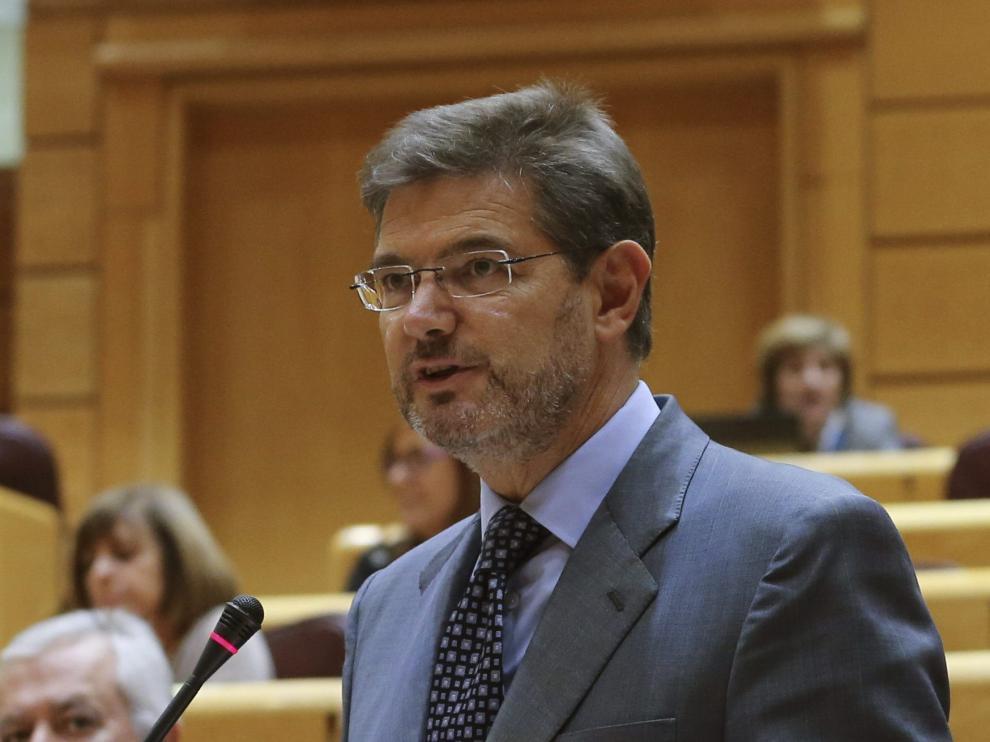 El ministro de Justicia, explica sus nuevas propuestas.