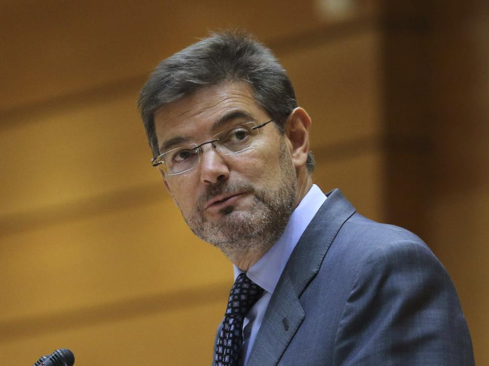 """Catalá justifica la necesidad de dar """"garantías legales"""" a la actuación de los agentes"""