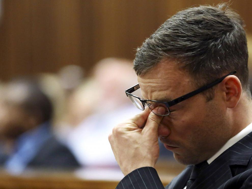 Pistorius en los juzgados de Pretoria, foto de archivo