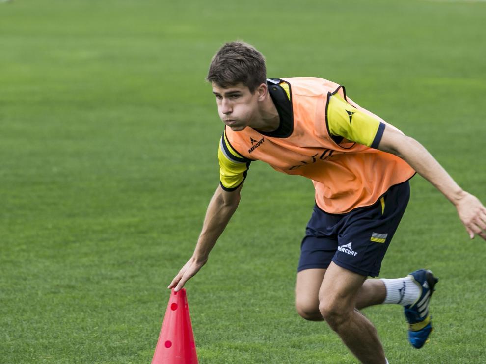 Ávaro Tierno podría jugar frente al Racing