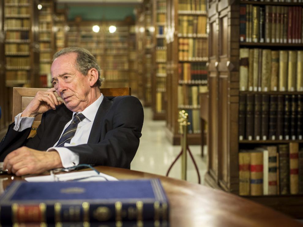 El director de la Real Academia Española, José Manuel Blecua