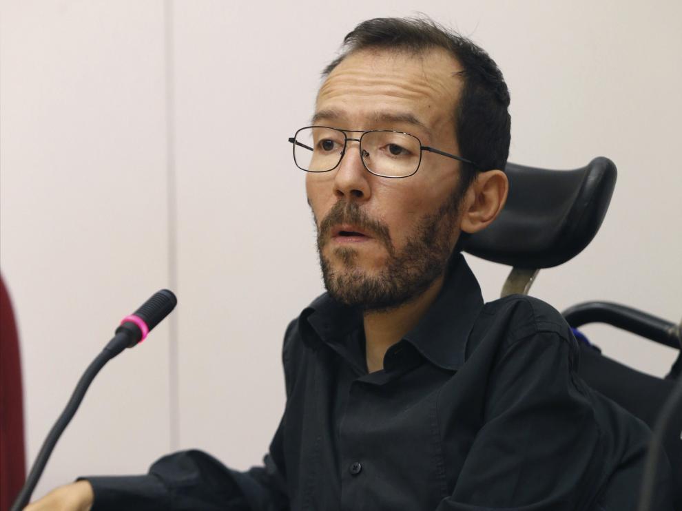 El eurodiputado Pablo Echenique