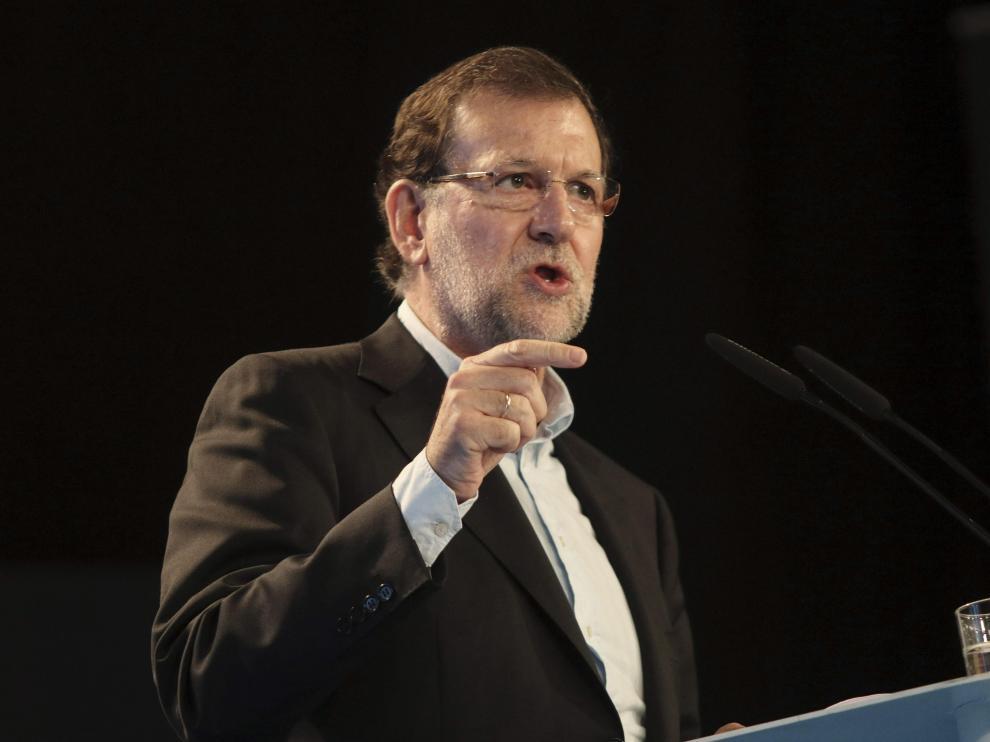 """Rajoy subraya que los datos económicos ratifican el """"sólido  crecimiento"""" de España"""