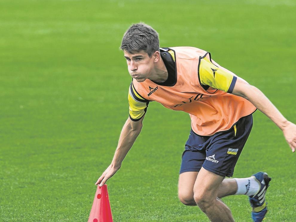Álvaro Tierno será hoy el timonel del Real Zaragoza.