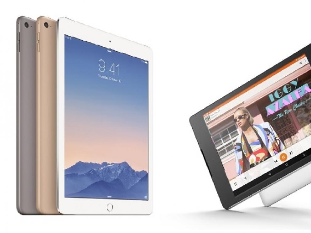 El Nexus 9 trata de plantar cara al iPad